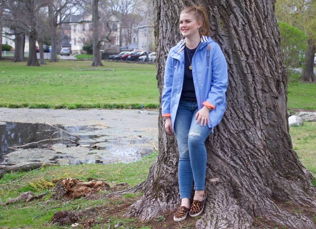 Rainy Day Outfit Joules Jacket