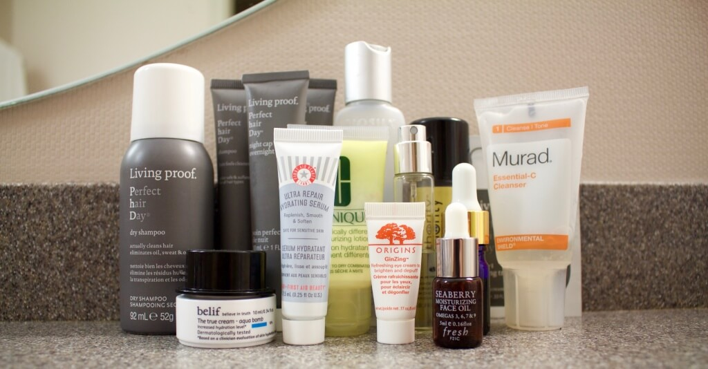 what's in my travel liquid toiletry bag