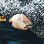 Flare Jeans and Oversized Sweater