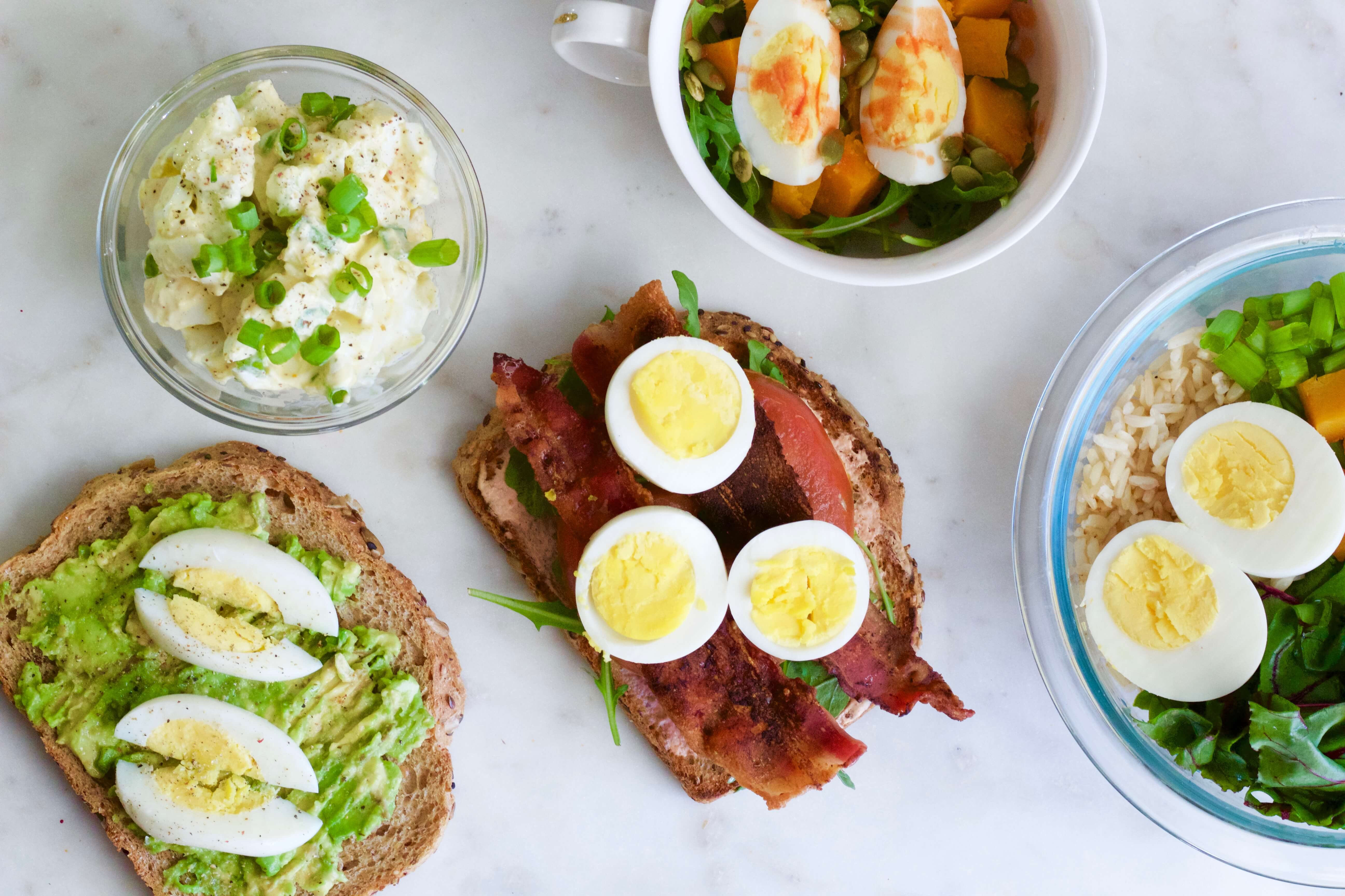 Five Ways To Serve Hard Boiled Eggs For Breakfast Or Lunch