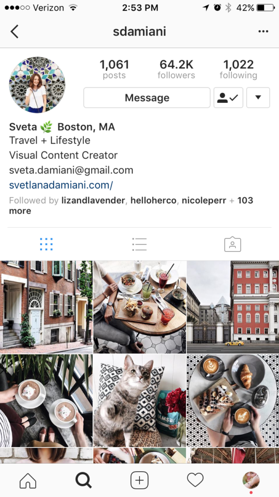 Boston Instagram Accounts