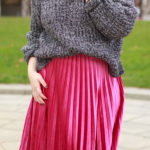 How to Style a Velvet Skirt