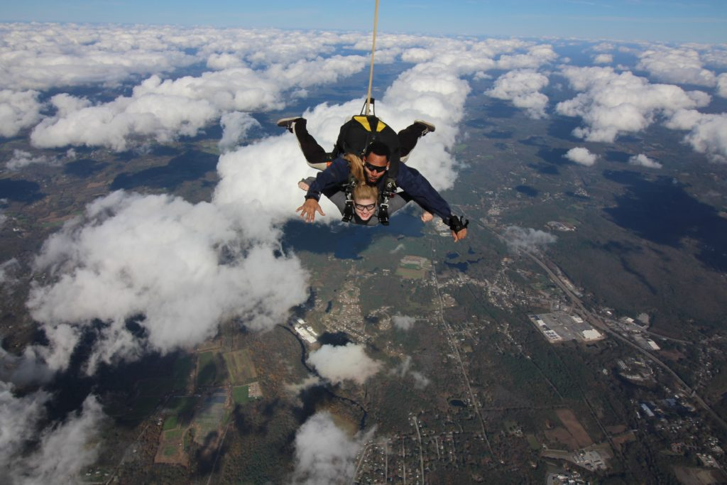 My First Skydiving Experience