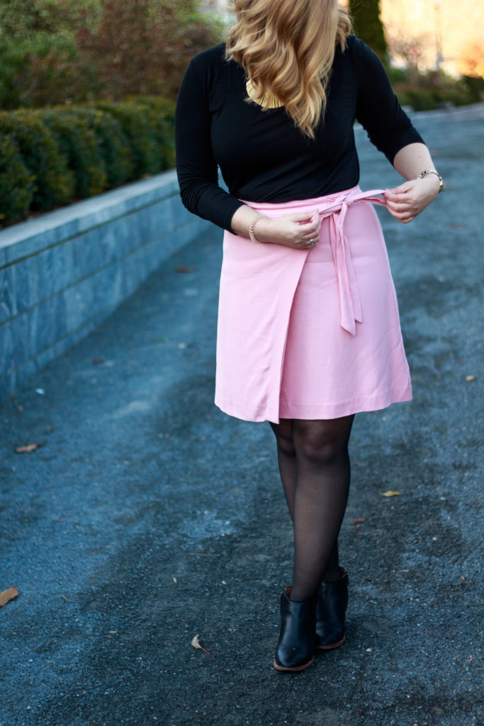 Styling a Summer Skirt for Winter