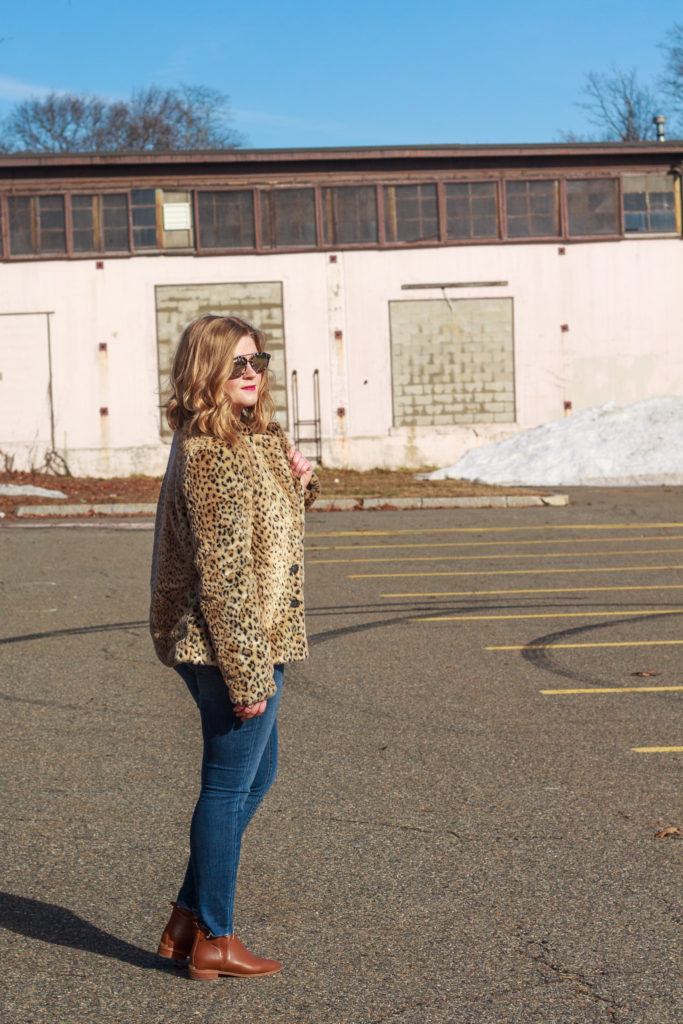 styling a leopard coat